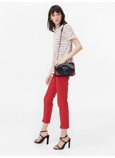 Twist Tişört Kırmızı